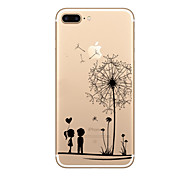 Per iPhone X iPhone 8 iPhone 8 Plus iPhone 7 iPhone 6 Custodia iPhone 5 Custodie cover Ultra sottile Transparente Fantasia/disegno