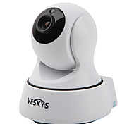 cheap -VESKYS® T4 720P 1.0MP Wi-Fi Security IP Camera(Day Night / Motion Detection / Remote Access / IR-cut / Plug and play)
