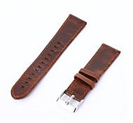 Недорогие -Ремешок для часов для Gear S3 Classic Samsung Galaxy Классическая застежка Кожаный ремешок Кожа Повязка на запястье