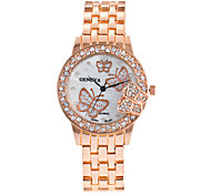 cheap -Women's Wrist watch Bracelet Watch Dress Watch Fashion Watch Quartz Colorful Large Dial Punk Alloy Band Charm Sparkle Vintage Casual