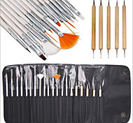 cheap -# Wood Crafts Kit Classic Chic & Modern Nail Art Drill Kit Nail Brushes