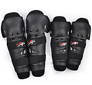 PRO-BIKER 4Pcs/Set Motorcycle Riding Elbow & Knee Protective Gear Set Brace Pads Protector Guard