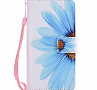 cheap -Case For LG LG Nexus 5X LG K10 LG K7 Card Holder Wallet with Stand Full Body Cases Flower Hard PU Leather for LG X Power