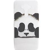Для asus zenfone 3 ze552kl zenfone 3 ze520kl чехол для кейса panda рисунок высокая проницаемость покраска tpu материал телефон корпус