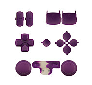 cheap -Replacement Controller Case Assembly Kit Set for PS3 Controller Orange/Purple/Pink