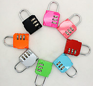 Luggage Lock Coded Lock Digit Portable Luggage Accessory Mini Size Anti-theft For Luggage 1 PC