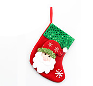 4PCS Christmas ornaments for Christmas table decoration
