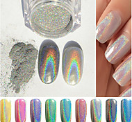 cheap -1pcs Glitter & Poudre Glitter Powder Powder Glitters Chic & Modern Shiny Lovely Shimmering Trendy Nail Art Design