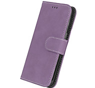 cheap -For Samsung Galaxy S7 Edge Luxury PU Leather Cover Case Wallet Cell Phone Cases Frosted Back Cover Card Holder Bags S7 S6 S5 S4 S4 S3 Mini