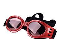 Perro Gafas de Sol Ropa para Perro Casual/Diario Paravientos: Deportes Sólido Negro Amarillo Rojo Azul Rosa