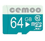 Недорогие -CEMOO 64 Гб Карточка TF Micro SD карты карта памяти Class10