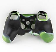 Недорогие -Защитный, силиконовый чехол для джойстика P3 (зеленый и черный)
