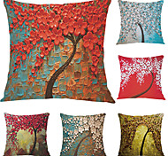 cheap -6 pcs Velvet Pillow Case, Graphic Prints Accent/Decorative