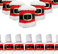 Недорогие -4шт рождества пряжки ремня салфетку кольцо