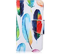 Недорогие -цветная роспись pu phone case для apple itouch 5 6 ipod чехлы / чехлы