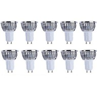 cheap -5W GU10 LED Spotlight 4 COB 500lm Warm White Cold White 3000k /6500K Dimmable AC 220-240 AC 110-130V 10pcs