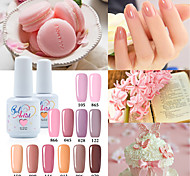 cheap -USA ONLY The Best Selling Uv Color Gel UV&LED Lamp Nail Gel Polish Nude Color  Neutral Color Long Lasting Lacquerl