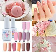 Кусачки для ногтей УФ-гель польский 15ml 1picec Блеск / УФ цветной гель Замочить от Долгое