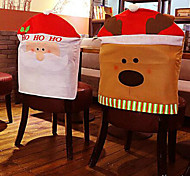 Недорогие -лосей стул наборы рождественских украшений 50 * 60 см