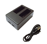 Battery Charger For Action Camera Gopro 5 Universal Plastic