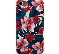 cheap -Case For Apple iPhone 8 iPhone 8 Plus iPhone 6 iPhone 7 Plus iPhone 7 Pattern Back Cover Flower Hard PC for iPhone 8 Plus iPhone 8 iPhone