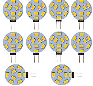G4 LED Bi-pin Lights Tube 9 SMD 5730 210 lm Cold White K AC/DC 12 V