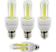 E26/E27 LED Corn Lights T 4 leds COB Decorative Cold White 210lm 6000K AC 85-265V