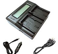 ismartdigi BP511 LCD Dual зарядное устройство с зарядки в автомобиле кабель для Canon EOS 300D 10d 20d 30d 40d 50d 5d ЭОС камеры