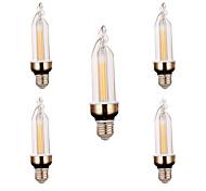 E26/E27 Декоративное освещение 2 светодиоды COB Декоративная Тёплый белый Холодный белый 300-400lm 2800-3200/6000-6500