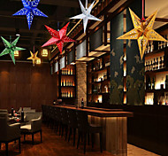Недорогие -звезды пятиугольник повесьте действовать роль окна рождественские украшения праздника цвета случайным 30см