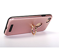 For iPhone 8 iPhone 8 Plus iPhone 7 iPhone 6 iPhone 5 Case Case Cover Ring Holder Back Cover Case Solid Color Hard PC for Apple iPhone 8