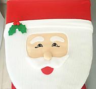 милый коммерческий мультфильм santa claus туалет крышка подушка 43cm * 33cm