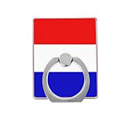 Недорогие -Голландский флаг картины пластиковый держатель кольца / 360 вращающийся для мобильного телефона iphone 8 7 samsung galaxy s8 s7