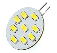 abordables -2W 420lm G4 Luces LED de Doble Pin Tubo 9 Cuentas LED SMD 5730 Blanco Fresco 12V