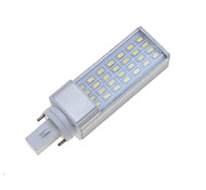 7W G24 E26/E27 LED Bi-pin Lights Rotatable 28 SMD 5630 550-600 lm Warm White Cold White 3000-3500 6000-6500 K Dimmable Decorative AC