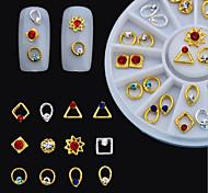 1PCS Nail Art Accessories Metal Set Suger