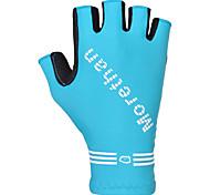 Недорогие -FJQXZ Спортивные перчатки Пригодно для носки Дышащий Меньше трения Без пальцев Спандекс Синтетические текстильные волокна Велосипедный