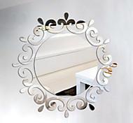 Formas 3D Adesivos de Parede Autocolantes de Parede Espelho Autocolantes de Parede Decorativos,Vinil Decoração para casa Decalque For