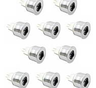 10pcs 3w привело прожектор mr11 высокой мощности привели 350lm теплый белый холодный белый dc12v