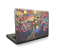 "cheap -Case for Macbook 13"" Macbook Air 11""/13"" Macbook Pro 13""/15"" MacBook Pro 13""/15"" with Retina display Oil Painting Plastic Material Rattan Trees"