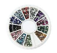 cheap -2000 Ornaments Stylish Ordinary Abstract Nail Art Design