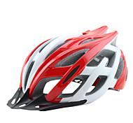 Недорогие -Мотоциклетный шлем CE Велоспорт 25 Вентиляционные клапаны Регулируется One Piece Вуаль Горные Ультралегкий (UL) Спорт Молодежный Горные