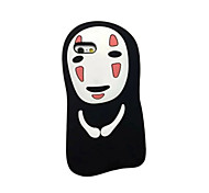 Недорогие -мультфильм призрак увезен мягкий силиконовый чехол для iPhone 5 / 5s