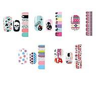 14PCS Lovely Cartoon Style Nail Art Stricker D Series NO.1-5(Assorted Pattern)