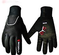 cheap -BOODUN/SIDEBIKE® Sports Gloves Sports Gloves Winter Gloves Bike Gloves / Cycling Gloves Keep Warm Breathable Wearproof Shockproof