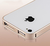 New thin Luxury Hard Aluminum Metal Frame Bumper Case for iPhone 4/4S(Assorted Colors)