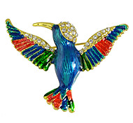 Women's Brooches Fashion Blue Jewelry Casual