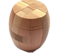 abordables -Puzzles de Madera / Rompecabezas IQ / Rompecabezas Kong Ming Prueba de inteligencia De madera Chica / Chico Regalo