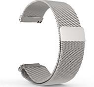 Недорогие -милански петля группы часы из нержавеющей стали Магнитный браслет ремешок для 20мм галечного времени раунда
