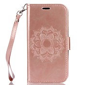 Full Body Mandala Embossed Leather Wallet for LG G3 G4 K7 K8 K10